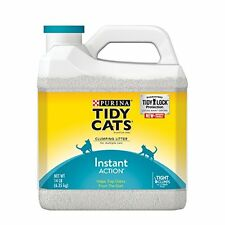 Cat Litter for Multiple Cats 14 lb.Jug  Purina Tidy Cats Instant Action Clumping