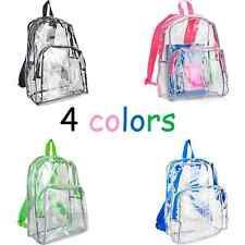 Clear Backpack College School Bag Eastsport Book Gym 4 Colors Durable New