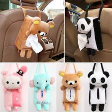 Unique Cartoon Bear Car Accessories Seat Cover Holder Paper Box Tissue Box Style