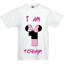 Minnie Mouse Disney Birthday T shirt Any Age!! Personalised