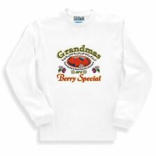 Long Sleeve T-shirt Adult Youth Family Grandmas Are Berry Special
