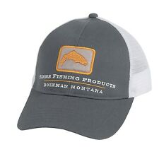 Simms Trout Trucker Fly Fishing Patch Hat Cap - Choose Color - NEW!