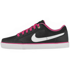 Nike Capri 3 Leather Shoes Trainers Sports Shoes Black Leather Women girls new