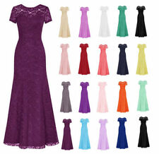 Custom Size 2-26W Formal Evening Prom Party Dress Bridesmaid Dress Ball Gown New