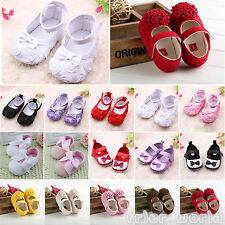 Soft Sole Baby Girls Shoes Anti-slip Toddler Princess Ballerina Ballet Prewalker