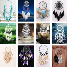 Hot Handmade Crafts Dream Catcher With Feathers Wall Hanging Decoration Ornament