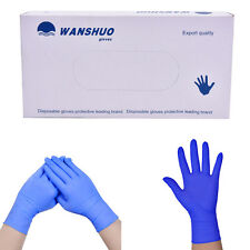100pcs Disposable rubber work glove disposable pvc nitrile latex gloves to