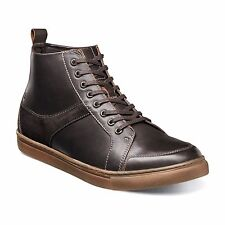 Stacy Adams Mens Brown Winchell Moc Toe Waxy Leather Suede Formal Trending Boot