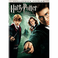 HARRY POTTER AND THE ORDER OF THE PHOENIX - DVD (DVD, 2007, Full Frame)