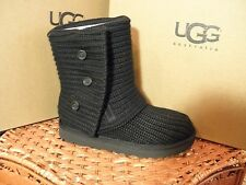 Kid's UGG Australia Classic Cardy Boots, Black