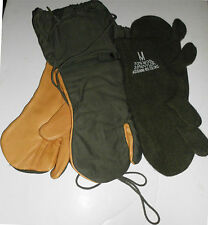 New US Military Cold Weather Mittens + Wool Inserts
