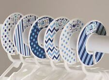 Nautical boy #c114 Baby Closet Dividers Clothes Organizers 6 navy