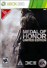 Medal of Honor - Limited Edition (Microsoft Xbox 360, 2010) Factory Sealed NEW