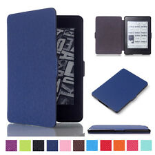 Leather Smart Case Cover Protective Shell for Amazon Kindle Paperwhite eReader