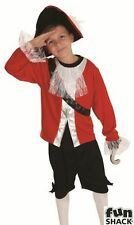 Pirate Captain Fancy Dress Costume Boys Book Week Costumes