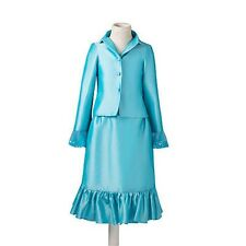 Ready Made Little Girls Formal Interview Suits Pageant Festival Dresses Skirt S2