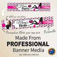 Personalised Hens Night Bachelorette Party Banner |  Decorations Accessories