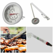 Stainless Steel Cooking Oven Thermometer Probe Thermometer Food Meat Gauge BE