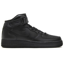 Nike Wmns Air Force 1 Mid 07 Le Women's Shoe Sneaker High leather black new dunk