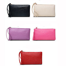 2016Hot Lady Women PU Leather Long Purse Clutch Wallet Zip Card Holder Handbag