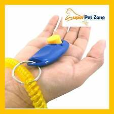 Clicker Training - Obedience Agility Trainer Aid - Dog Cat Pet - Wrist Strap