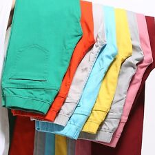 Women Casual Candy Plus Size Pencil Legging Skinny Pants Trousers Jeans