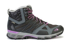 The North Face Womens Boots Ultra Hike II Mid GTX Black Sweet Violet