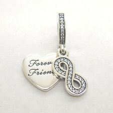 Authentic Genuine S925 Silver Forever Friends Dangle Charm Bead