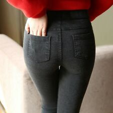 Women Casual Stretch Denim Jeggings Pencil Pants Thin Skinny Legging Jeans