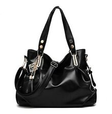 Women Fashion Shoulder Classic Leisure Tassel Hobos Pu Leather Crossbody Handbag