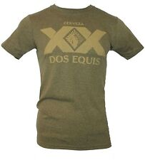 Dos Equis Beer  Mens T-Shirt -  Distressed Large XX Logo