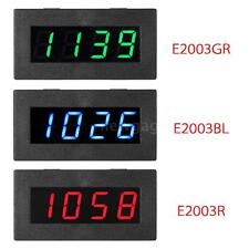 Mini 4 LED Digital Frequency Tachometer Car Motor Speed Meter 5-9999R/M Y5Q8