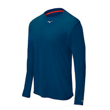 Mizuno Comp Long Sleeve Mens Crew Shirt navy-350502.5151