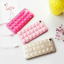 3D Heart Lover Soft Phone Case Cover Back Shell Skin For iPhone 6s 7 7 Plus