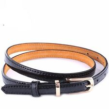 Leather Women Belts Fashion Belts Metal Buckle Cowhide Belts