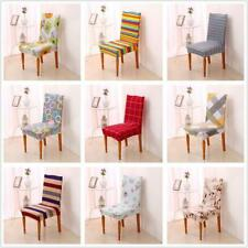 Stretch Short Corduroy Dining Chair Cover Machine Washable 9 Types