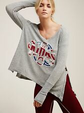 IRR TRUNK LTD The Kinks Thermal Free People Thermal long sleeves LOOSE fit Gray