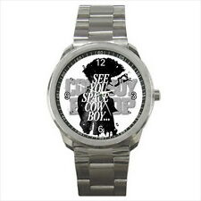 NEW Wrist Watch Stainless Unisex Space Cowboy Bebop Spike Anime Manga Collection