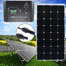 100W 18V Sunpower Chip Solar panel Kit Battery Charger Camping Power Generator