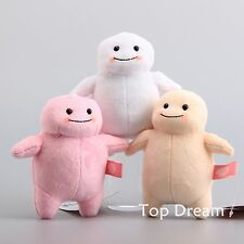 New Doctor Who Adipose Stress Plush Doll Soft Stuffed Toy 5'' Keychain Pendant