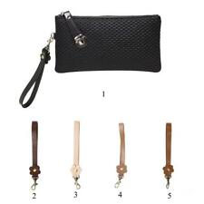 Durable Leather Replacement Wrist Strap for Clutch, Wristlet, Purse, Keys Chains