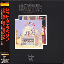 LED ZEPPELIN The Song Remains Same JAPAN 1st Edition Mini LP 2 CD 1997 W/Obi