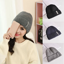 Beanie Men Women Hat Hip-Hop Wool Knitted Ski Cap Skull Warm Winter Cuff Unisex