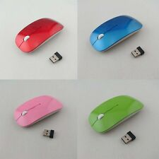 1600DPI Wireless Optical Mouse 2.4GHz Quality Mice USB 2.0 for PC Laptop 10m UUB