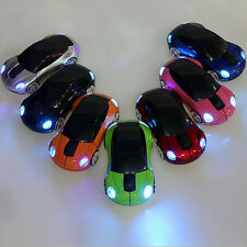Fashion 2.4G 3D Car Shape Wireless Optical Mouse + USB Receiver For PC Laptop