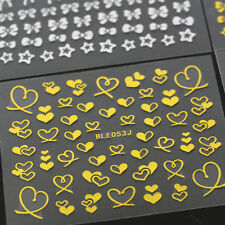 1pc Hot Sale Bowknot Heart Nail Art Tips Sticker DIY Decoration Manicure Decal