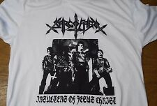 SARCOFAGO - Insulters of Jesus Christ SHIRT BEHERIT Blasphemy DARKTHRONE Mayhem