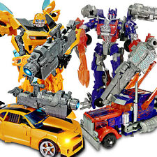 1 set of 7 Transformers Bumblebee Optimus Prime Vehicles Autobots Boys Toy Gift