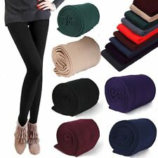 NEW Warm Winter Leggings Thick Fleece Stretch Skinny Pants Trousers Footless WU