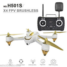 Hubsan H501S X4 5.8G FPV 10CH Brushless 1080P HD Camera GPS RC Quadcopter